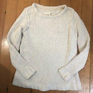 100% cotton chunky knit sweater